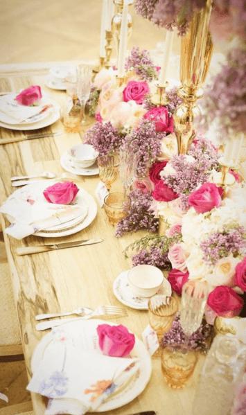 Reception Et Centre De Table Pour Mariage Fleurs De Boheme